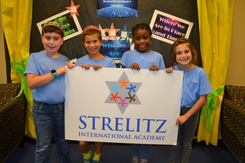 Students at Strelitz International Academy