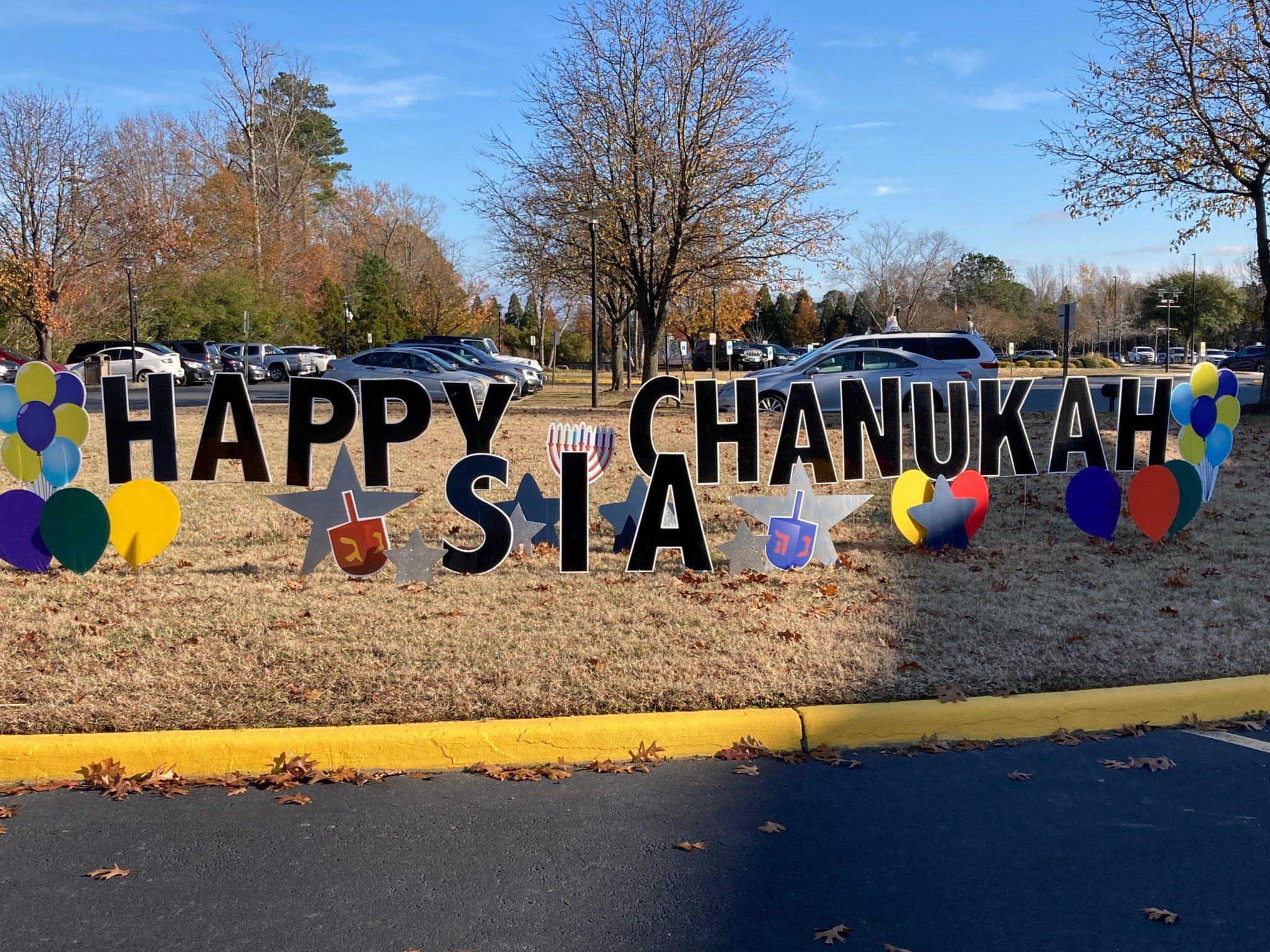 Celebrating Chanukah 2020 at the Strelitz International Academy