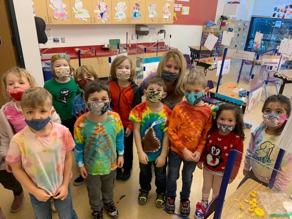 Tie Dyed t-shirts Celebration at SIA